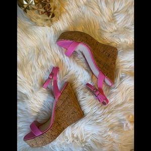 FLASH SALE🔥🔥Barbie Pink Wedge 👑🌸🌺🌸💐🌷